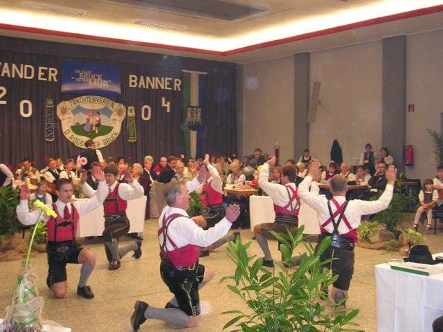 Wanderbanner in Bruck 2004